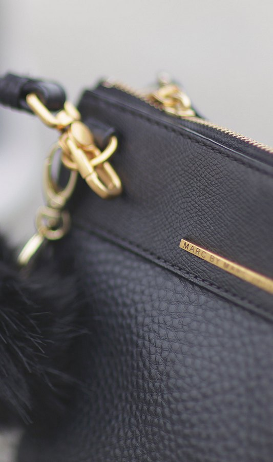 blog mode paris femme du style madame streetstyle look manteau fourrure