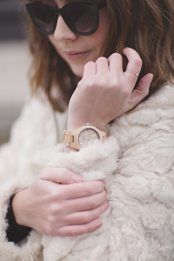 blog mode paris femme du style madame streetstyle look jord watch wood watch