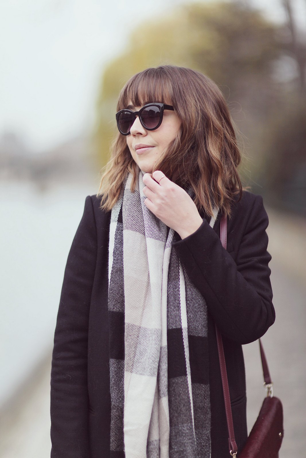 blog mode paris femme du style madame streetstyle look echarpe shein