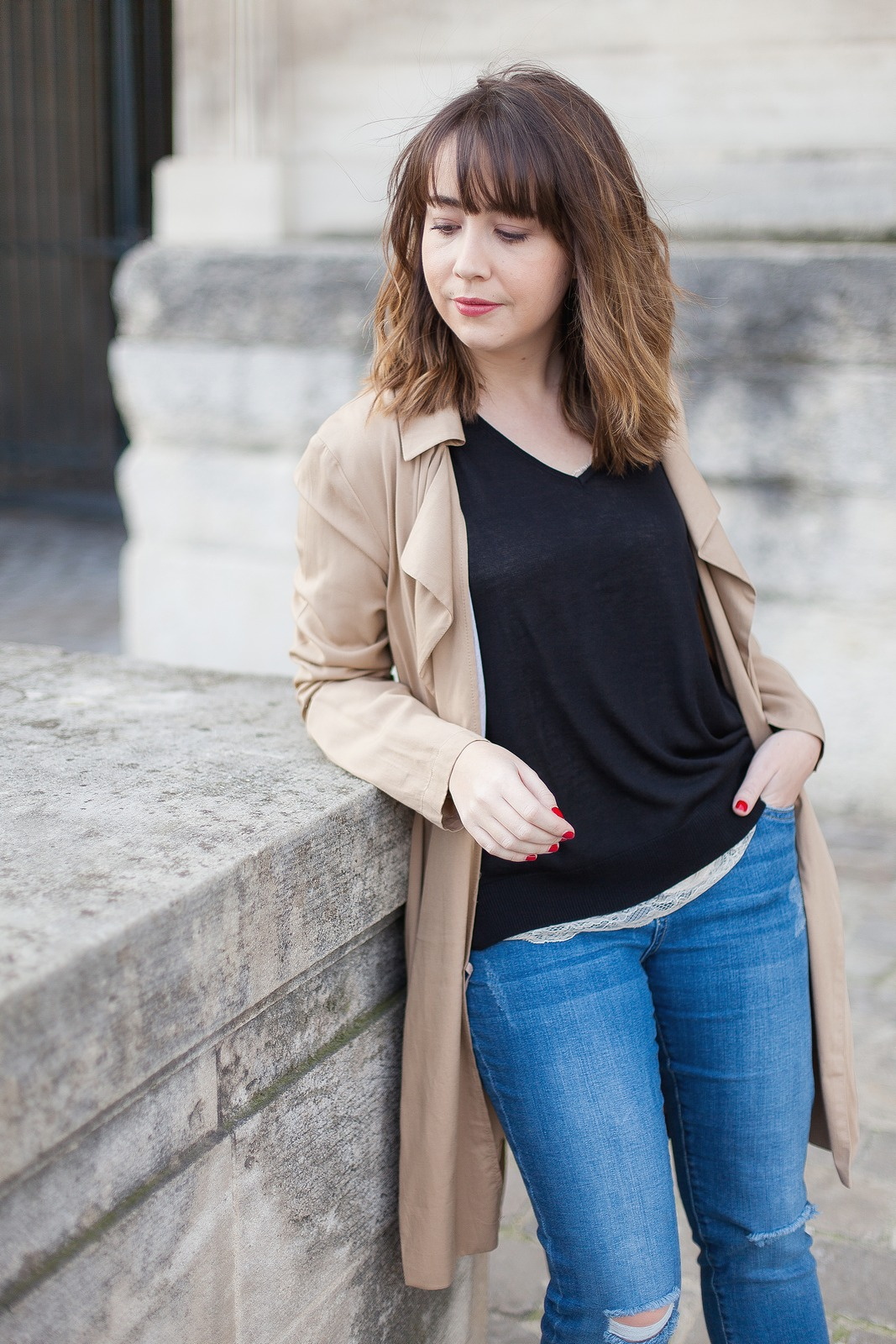 blog mode paris femme - du style madame - streetstyle - look - jennyfer