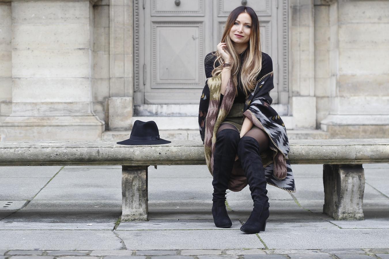Blog mode femme Paris - Du style, Madame - Streetstyle - look style - seventies - boheme