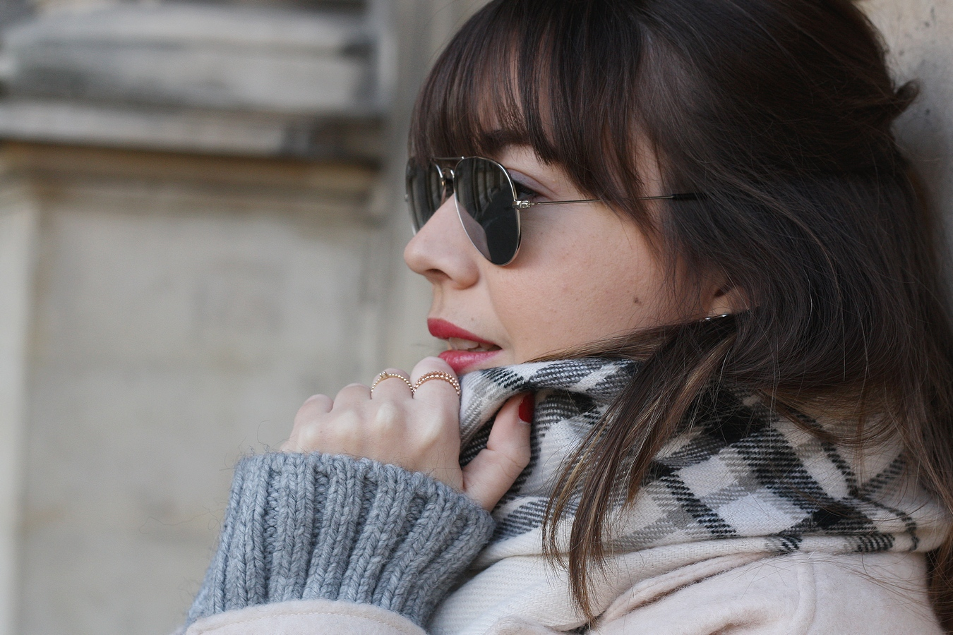 Blog mode femme Paris - Du style, Madame - Streetstyle - derbies - silver