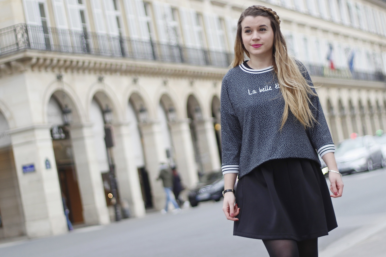Blog mode femme Paris - Du style, Madame - Streetstyle - sweat a message