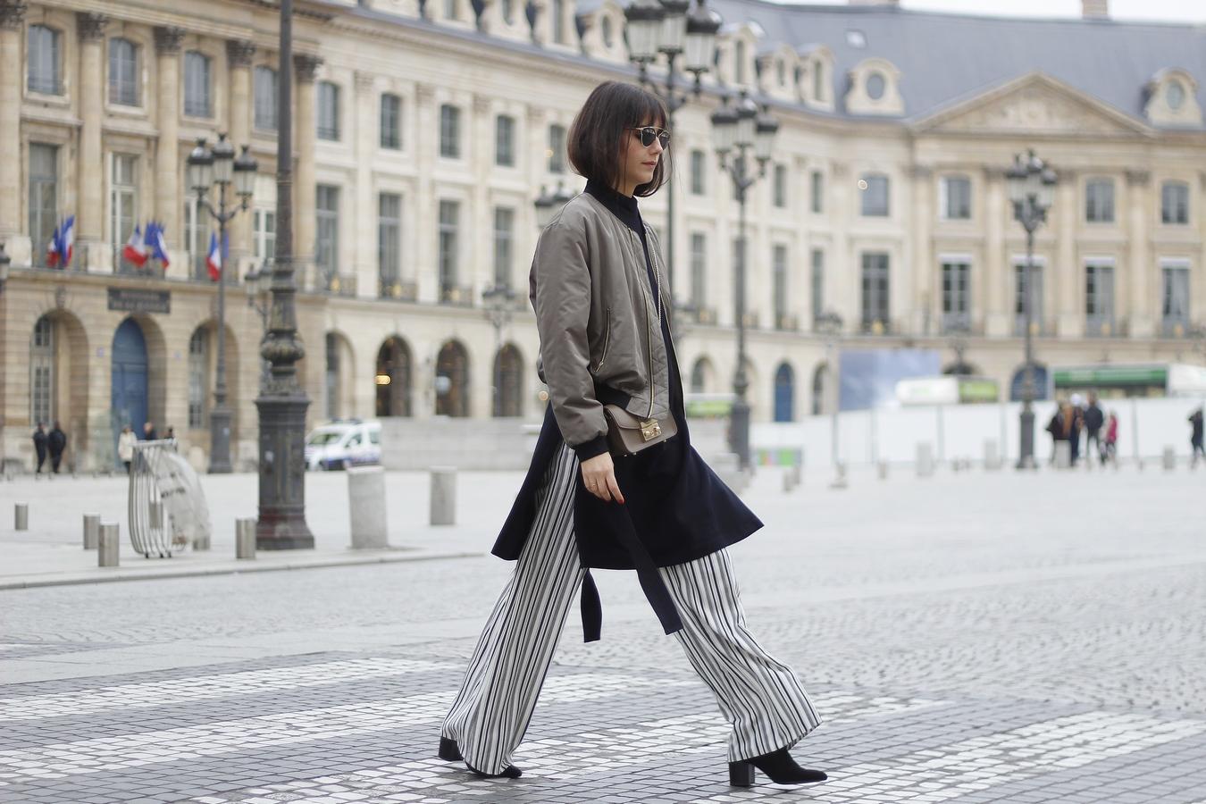 Blog mode femme Paris - Du style, Madame - Streetstyle - bomber kaki