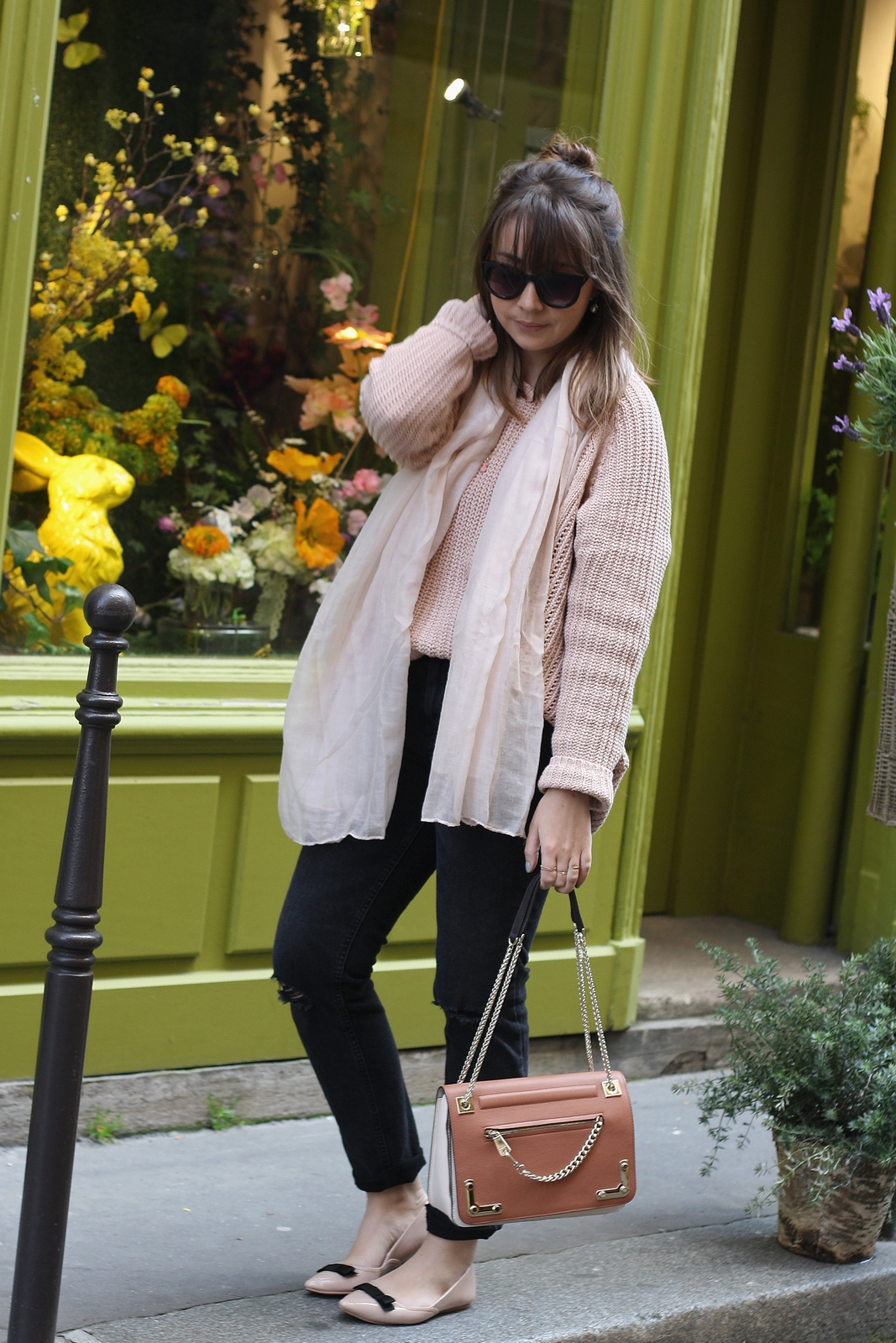 Blog mode femme Paris - Du style, Madame - Streetstyle - look - nude