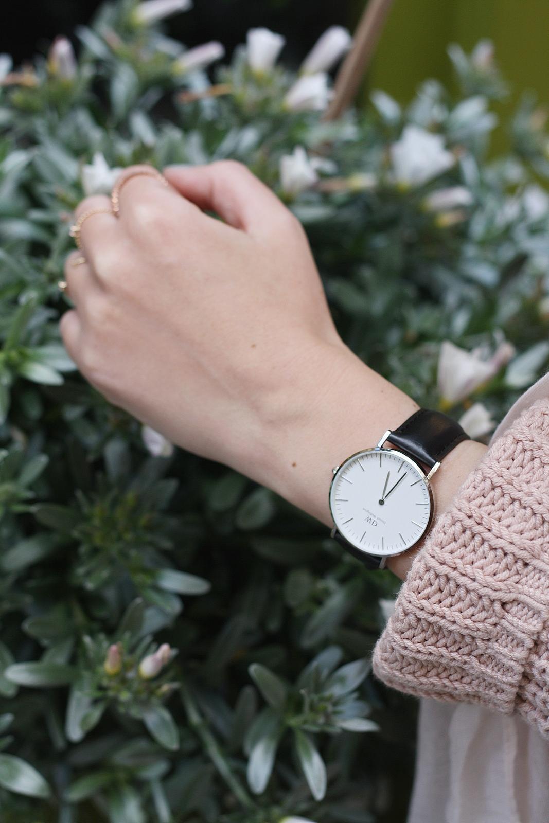 Blog mode femme Paris - Du style, Madame - Streetstyle - look - daniel wellington - montre