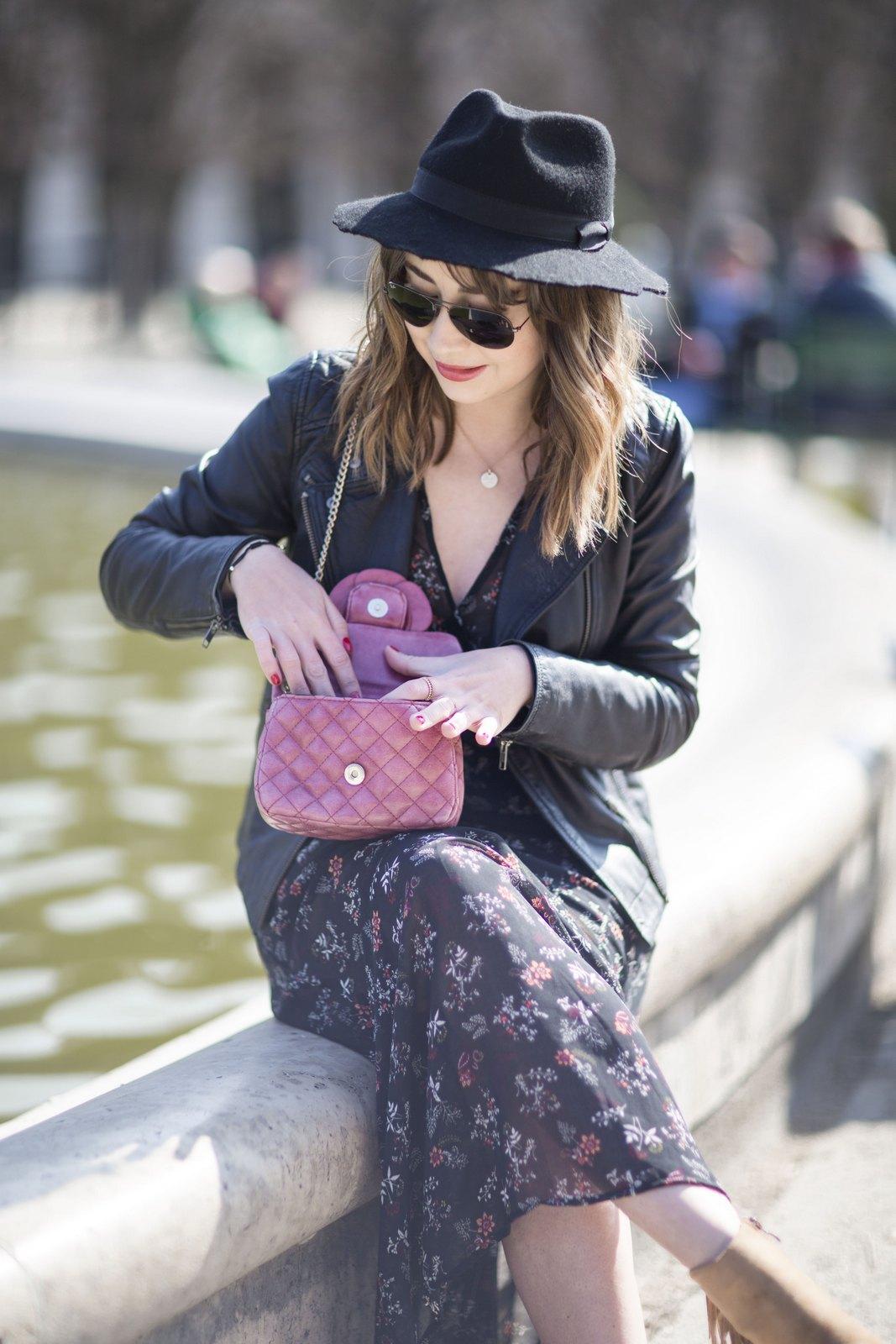 Blog mode femme Paris - Du style, Madame - Streetstyle - robe longue - boheme