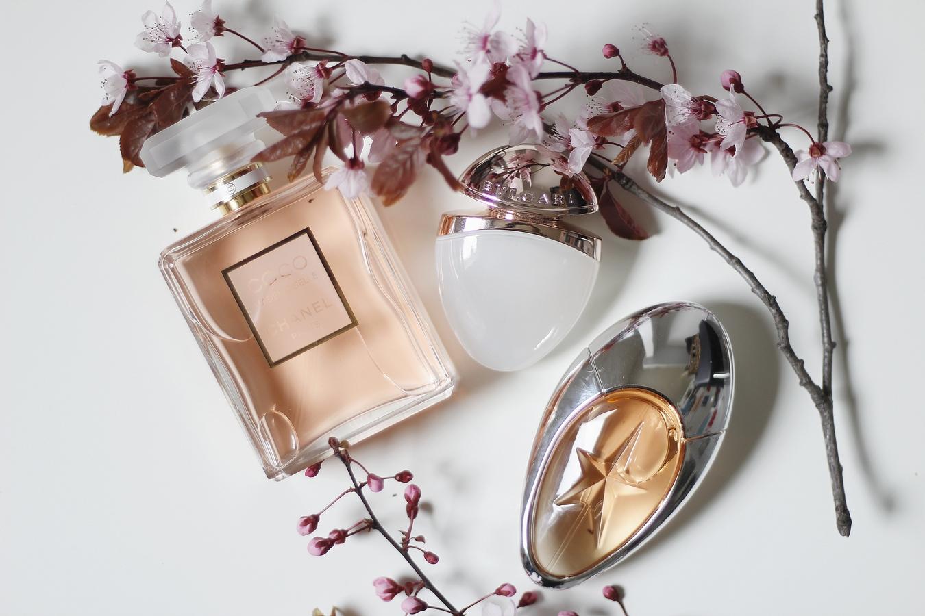 parfums femme - angel muse - coco mademoiselle - omnia crystalline