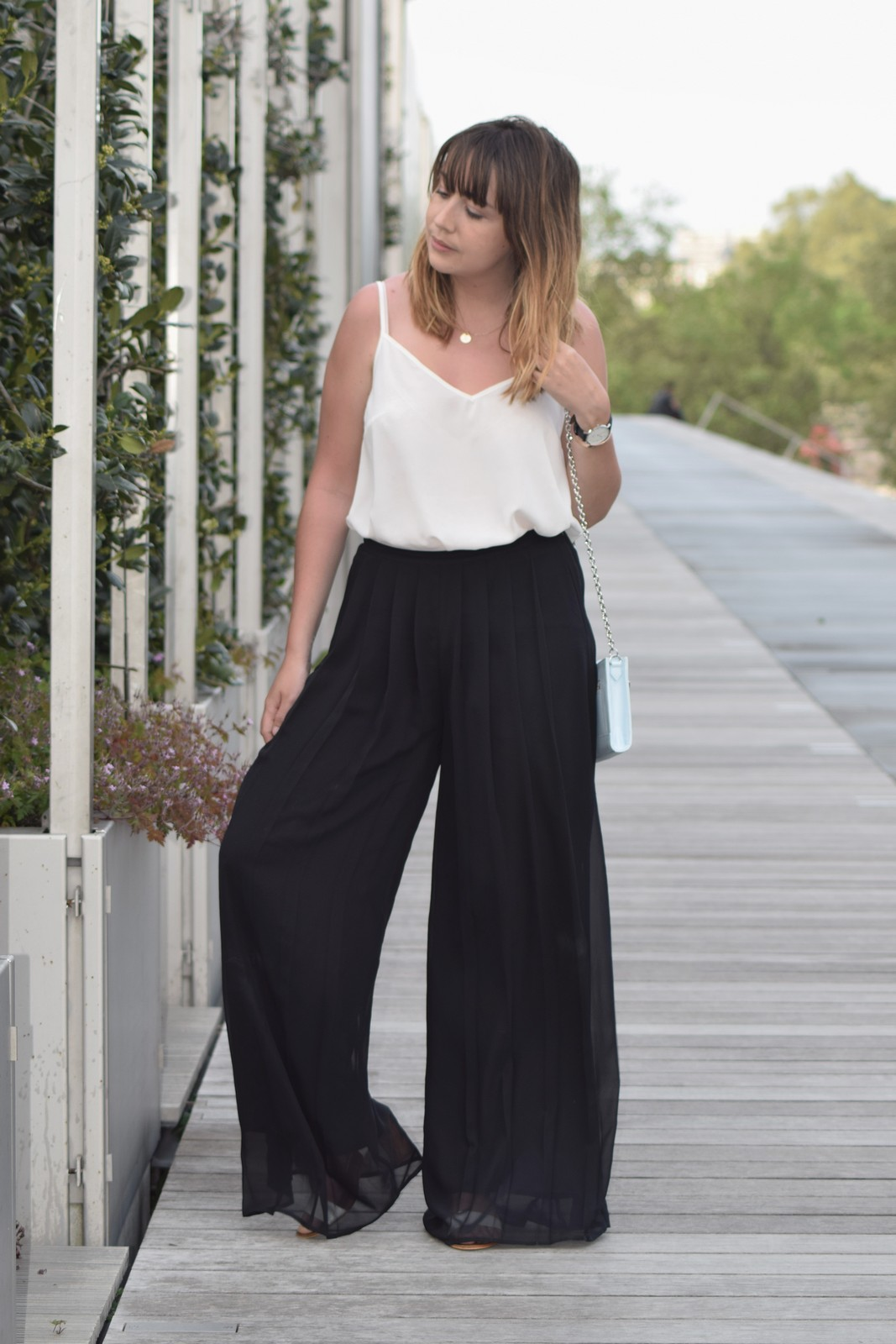 Blog mode femme Paris - Du style, Madame - black and white outfit