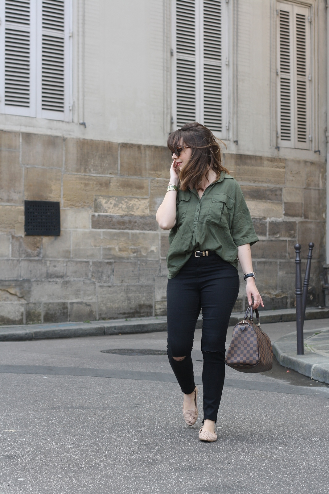 du style madame - blog mode - urban safari - stretstyle - look
