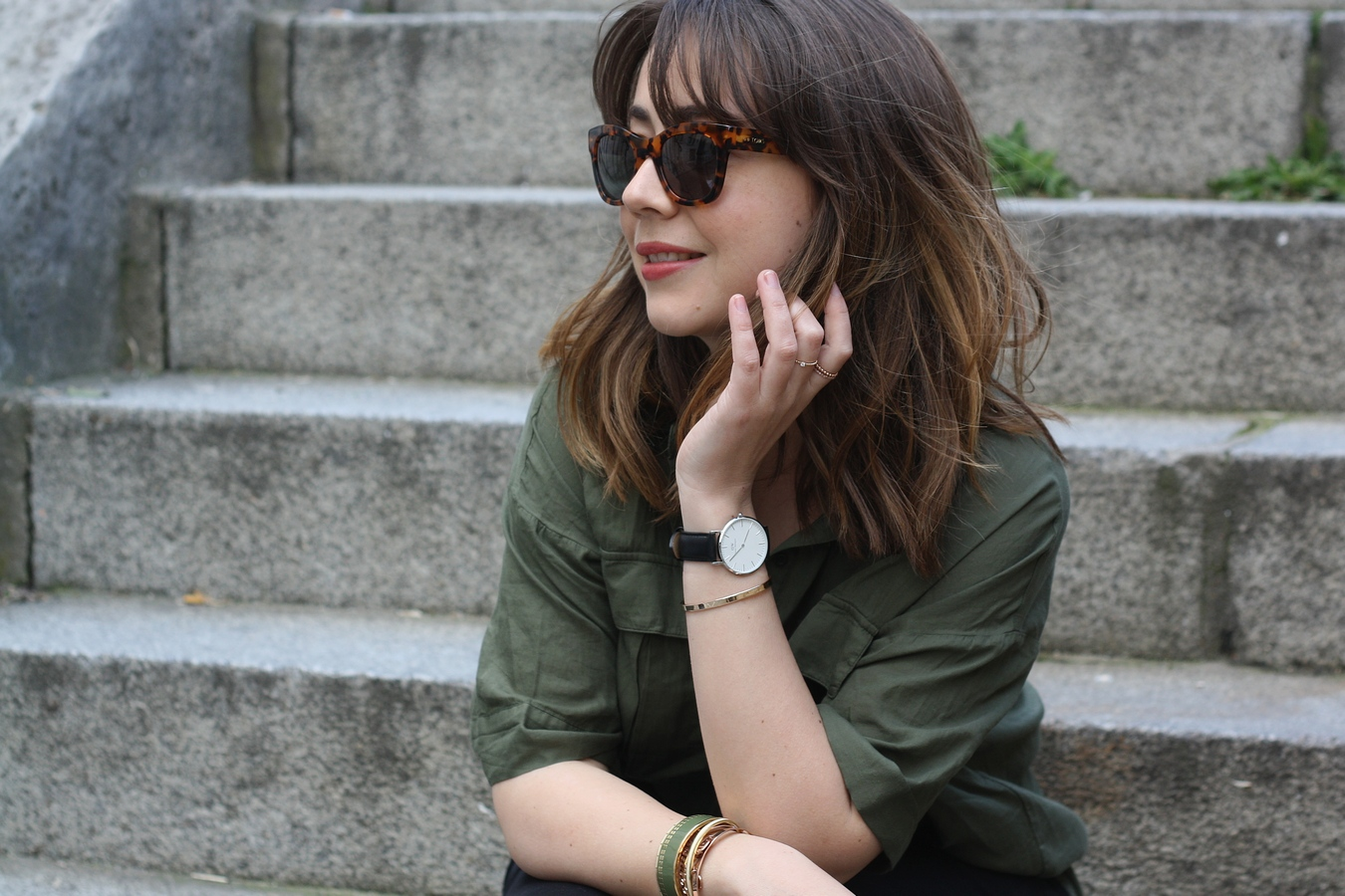 du style madame - blog mode - urban safari - stretstyle - look lunettes tom's