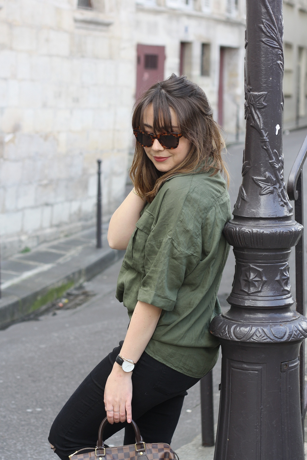 du style madame - blog mode - urban safari - stretstyle - look - tom's lunette