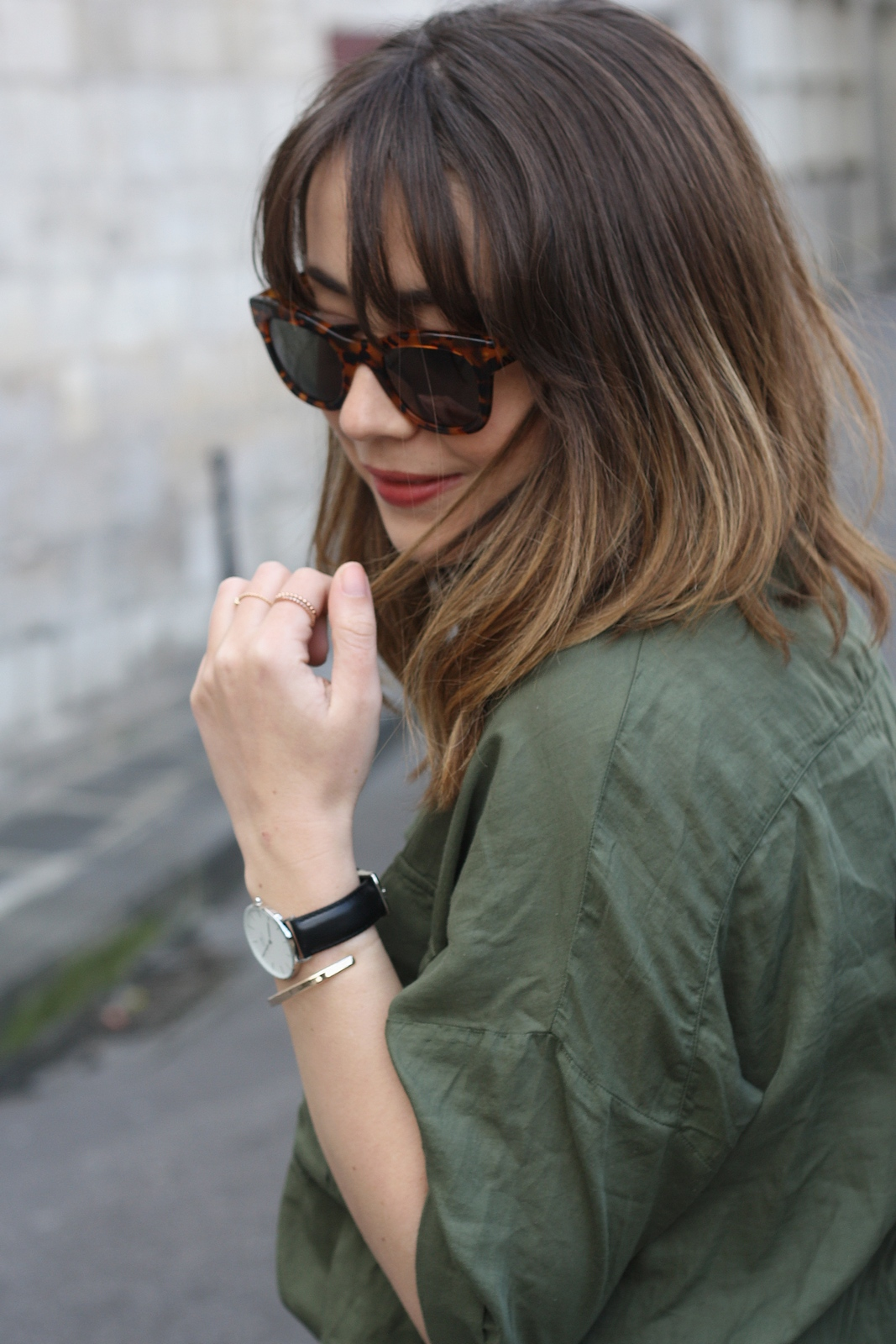 du style madame - blog mode - urban safari - stretstyle - look - lunettes tom's