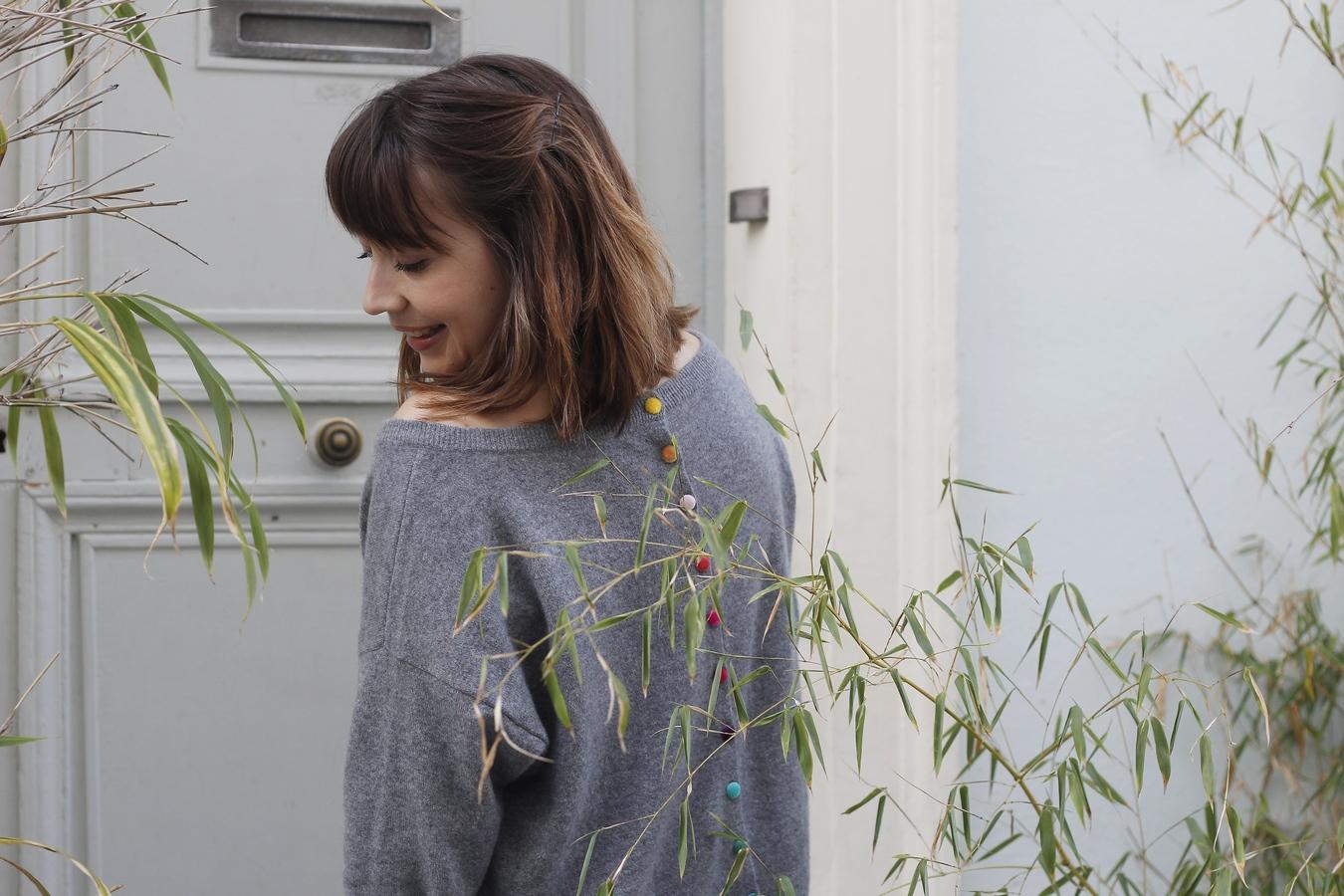 Blog mode femme Paris - Du style, Madame - streetstyle - estheme cachemire - rue crémieux