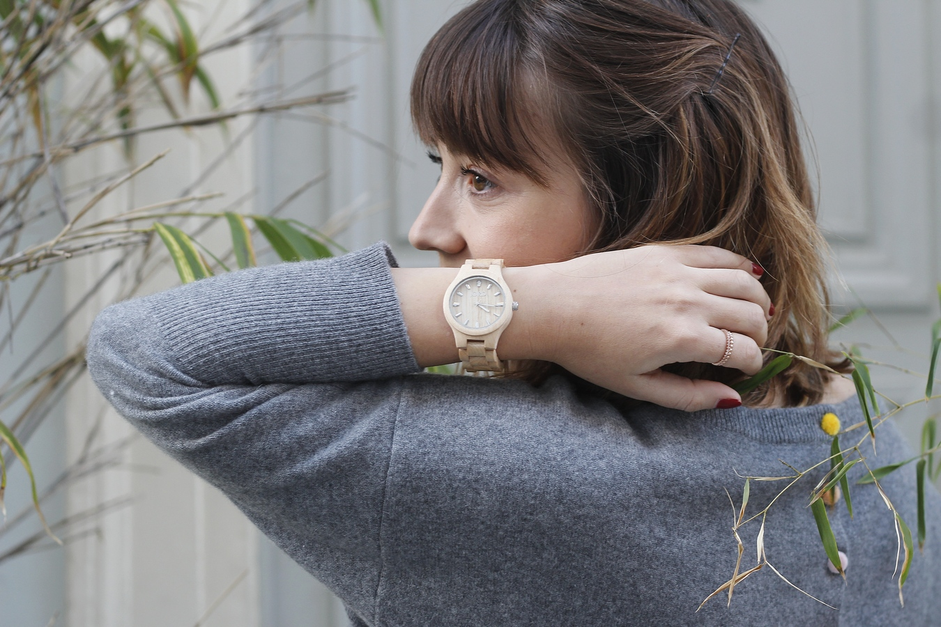 Blog mode femme Paris - Du style, Madame - streetstyle - estheme cachemire - jord watch