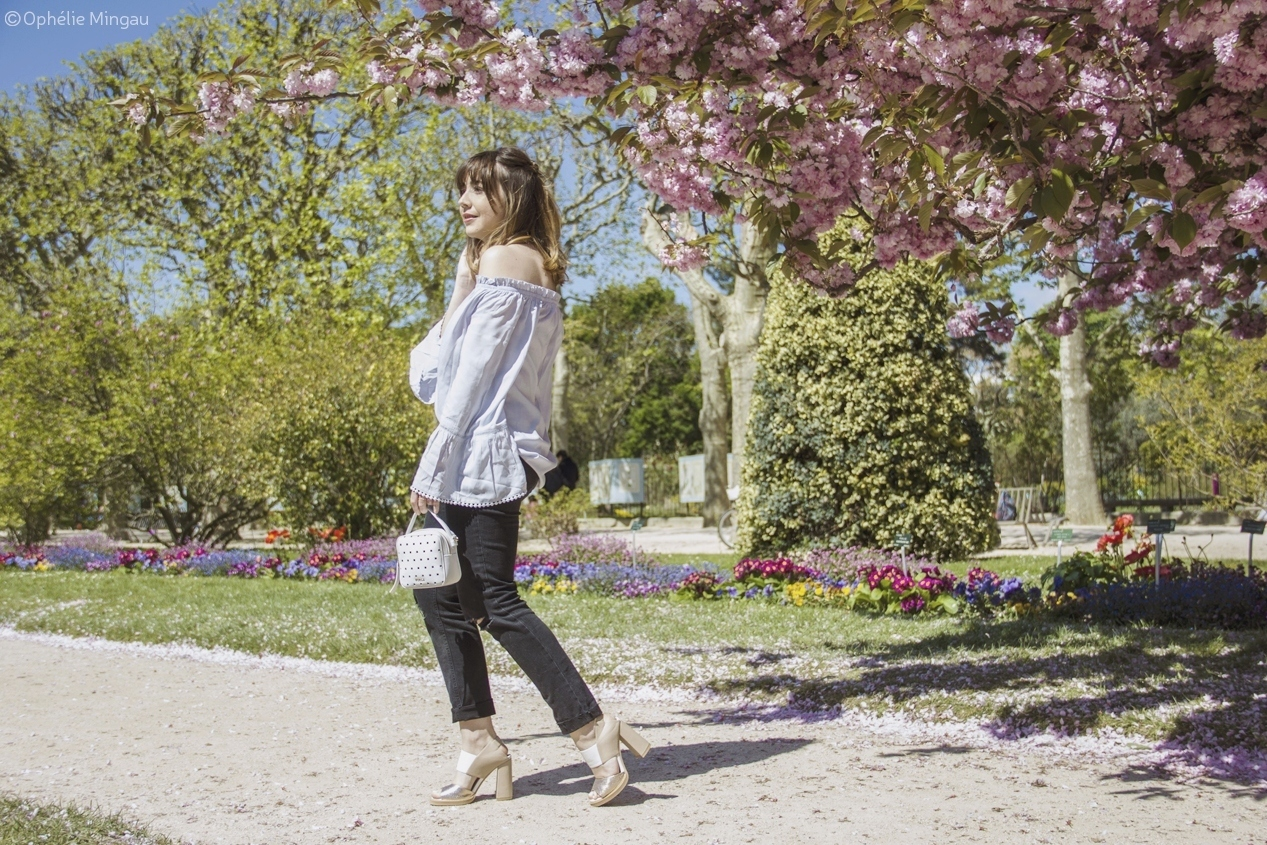 Blog mode femme Paris - Du style, Madame - streetstyle - off the shoulder