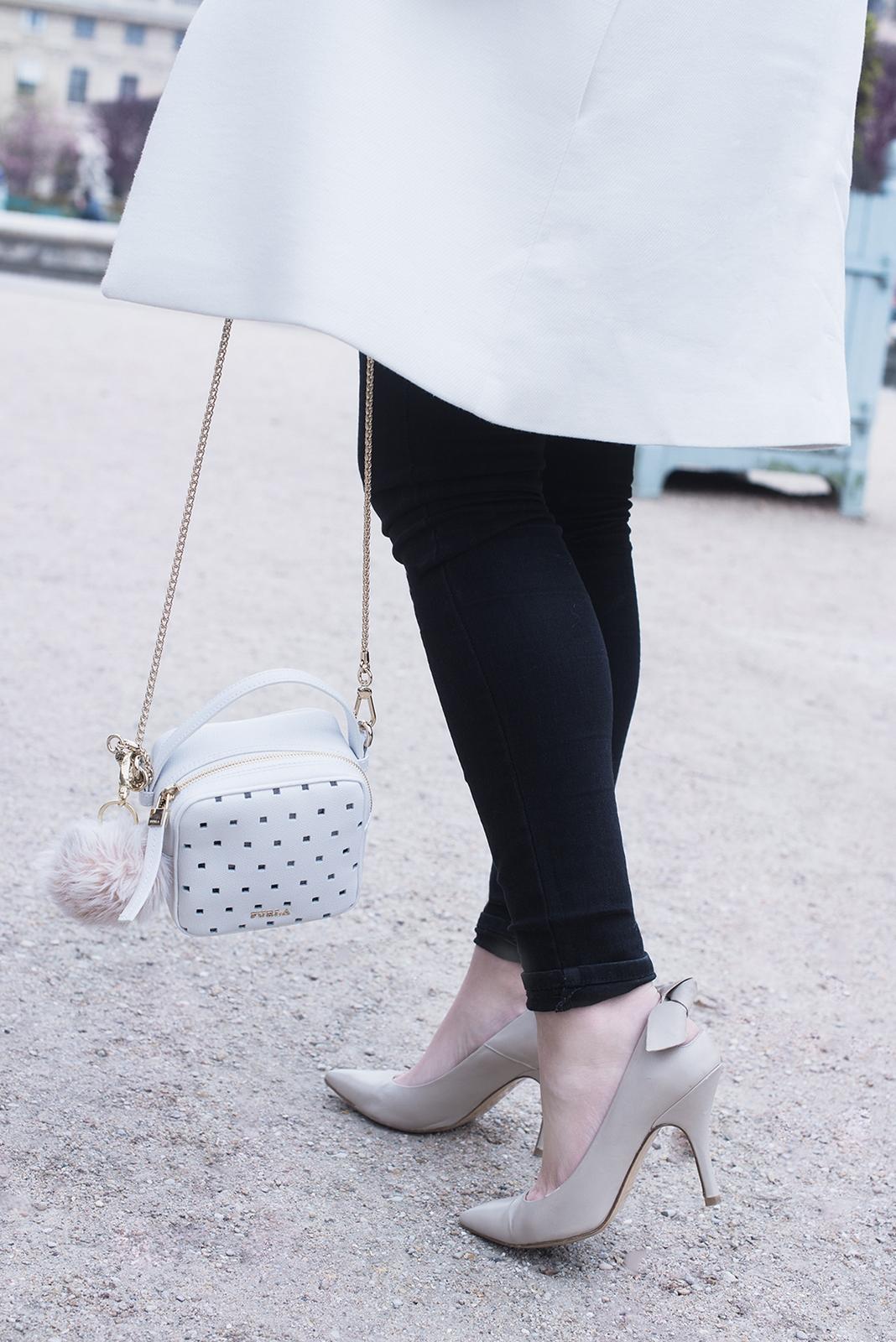 Blog mode femme Paris - Du style, Madame - streetstyle - bag furla white
