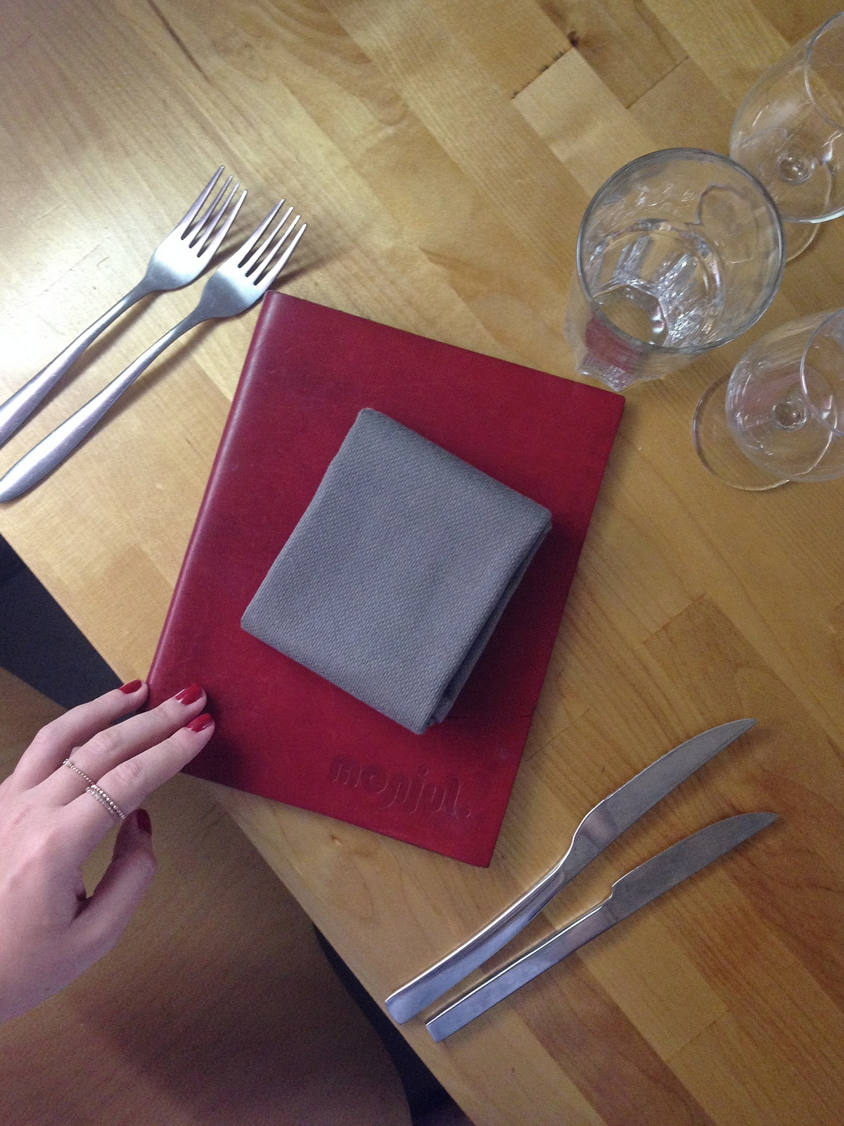 Monjul - restaurant - paris - gastro - cuisine inventive