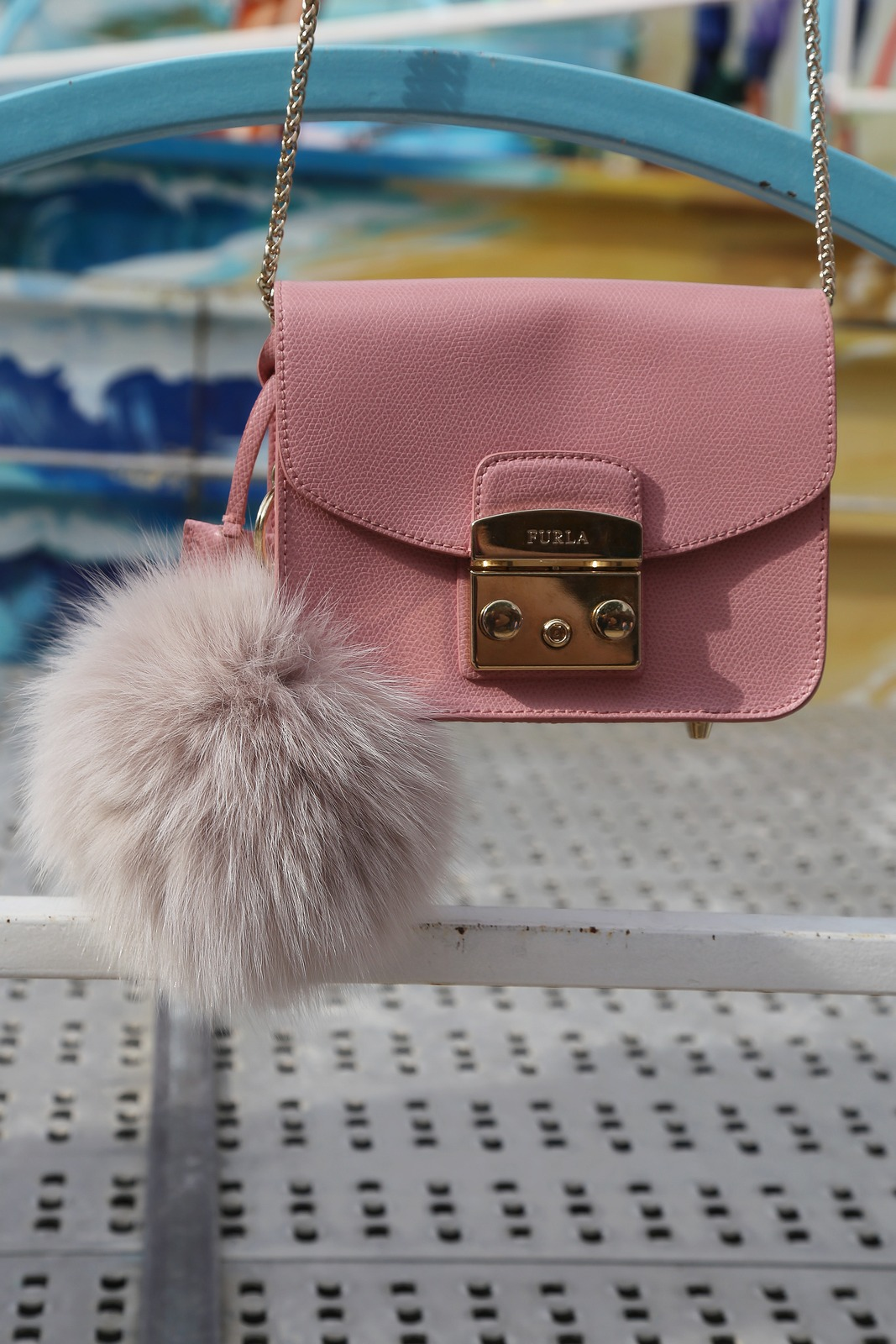 furla metropolis - winter pink