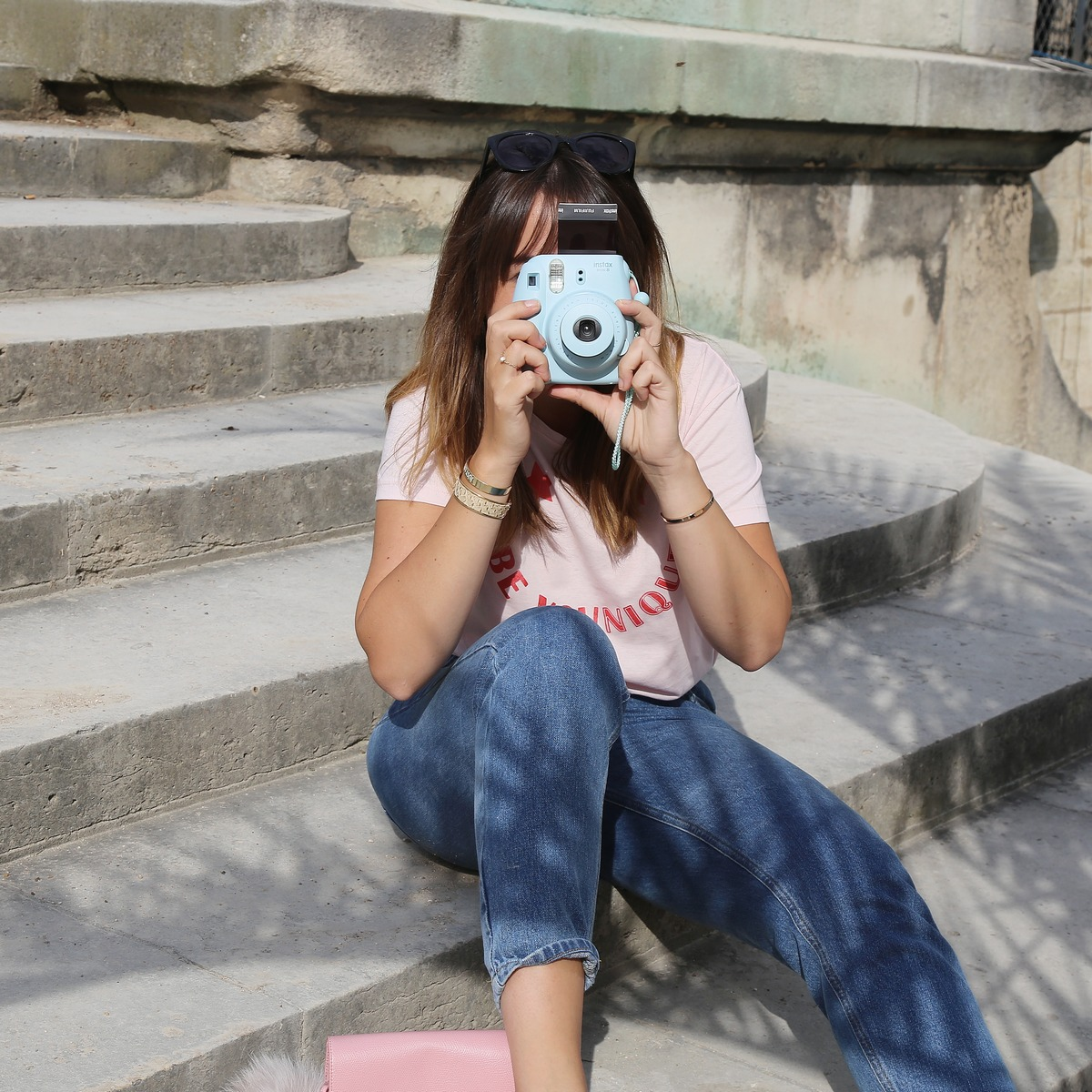 instax mini - instax bleu - polaroid