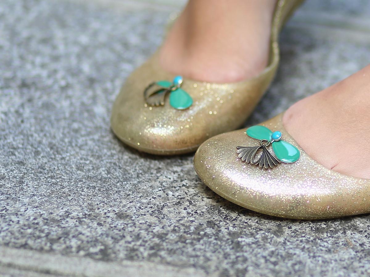 du style madame - blog mode paris femme - chaussures méduse - Salsada - paillettes - glitter
