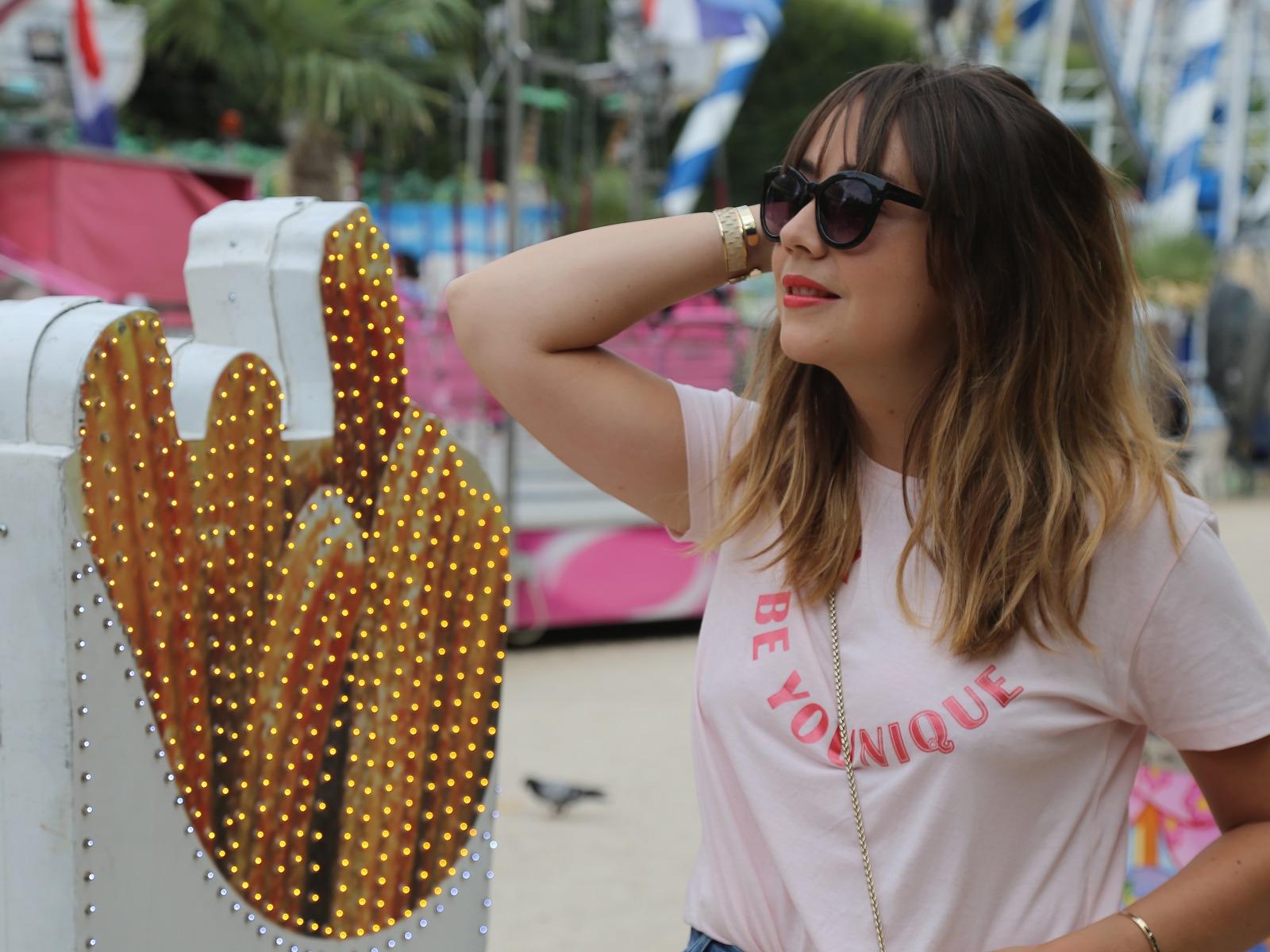 Blog mode femme Paris - Du style, Madame - streetstyle - fetes des Tuileries - mom jean - furla metropolis - stradivarius