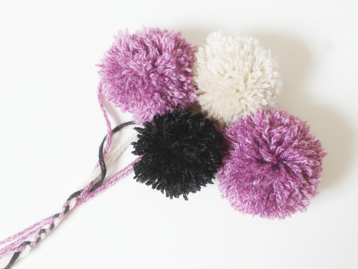DIY - pompons fourchette - facile
