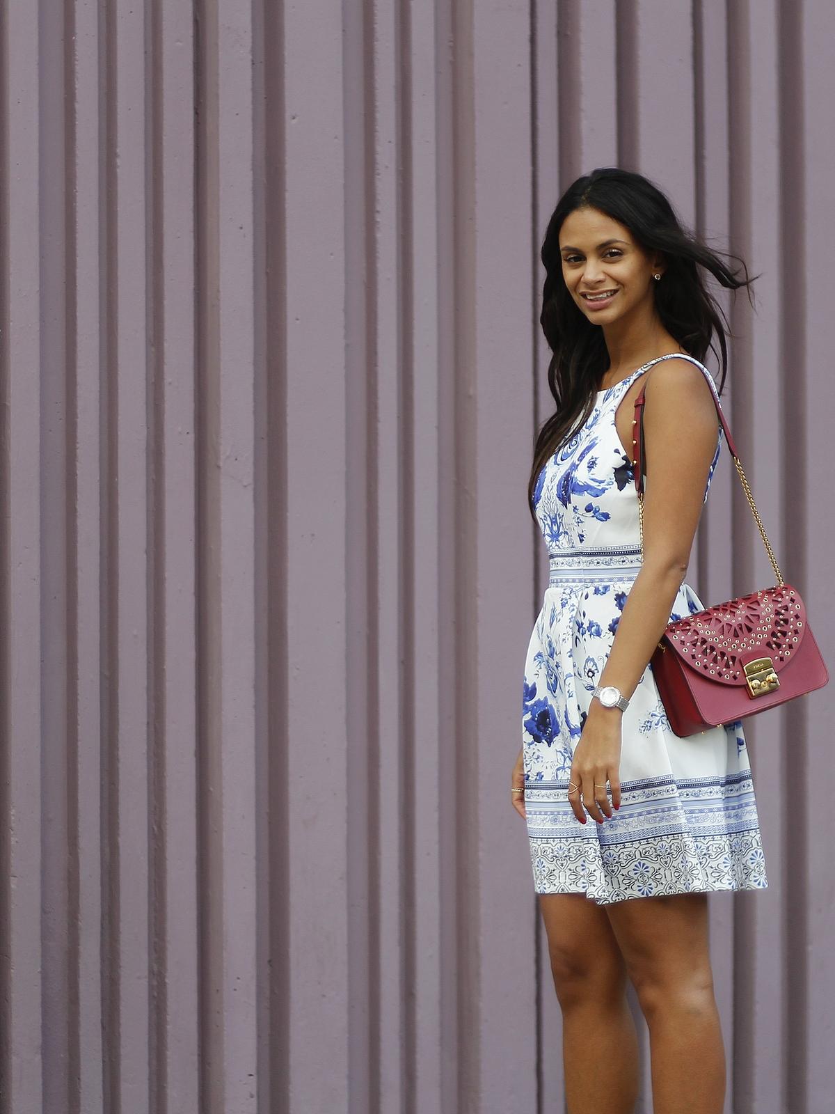 Avec Hannah X Du style, Madame ! look participatif - blog mode - mur violet beaugrenelle