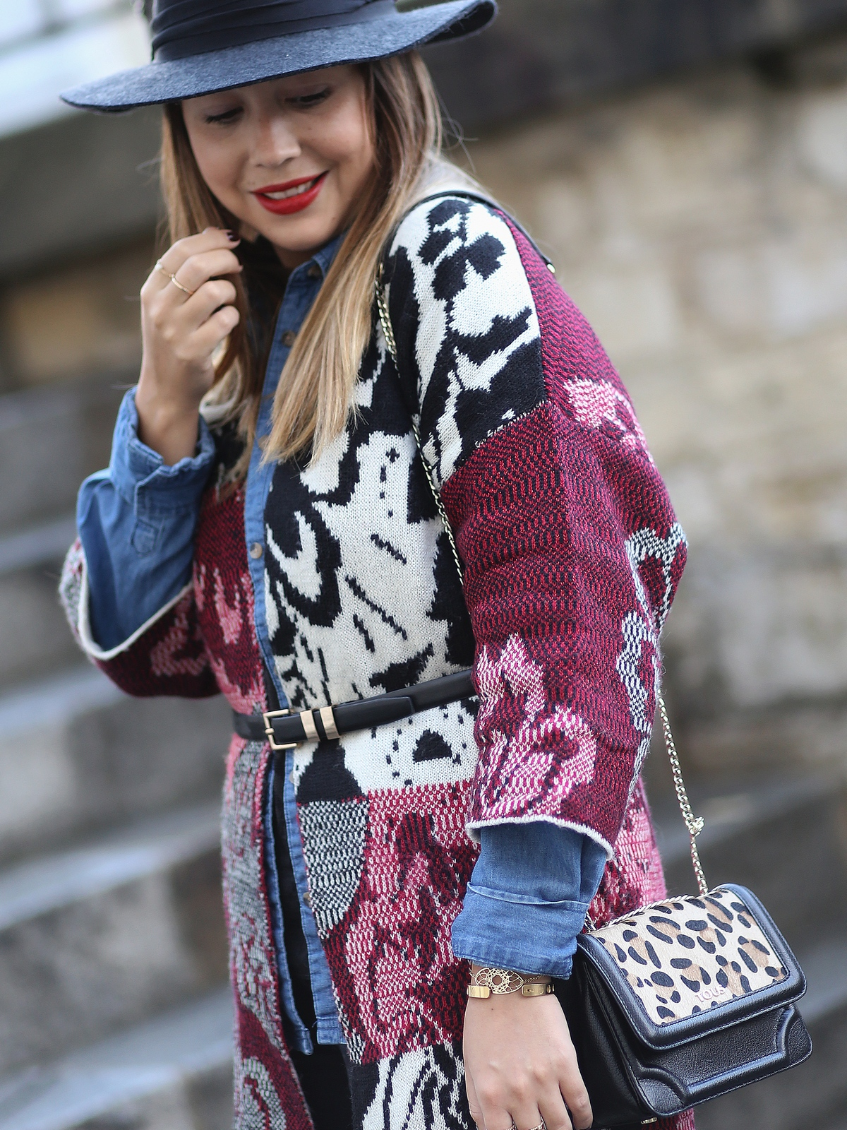 look desigual - tricotvibes - fashion blogger