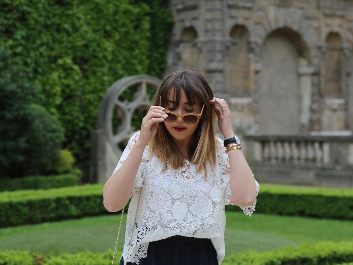 défaut blogueuse mode - top dentelle
