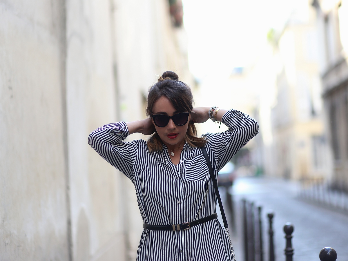 striped dress - balsamik