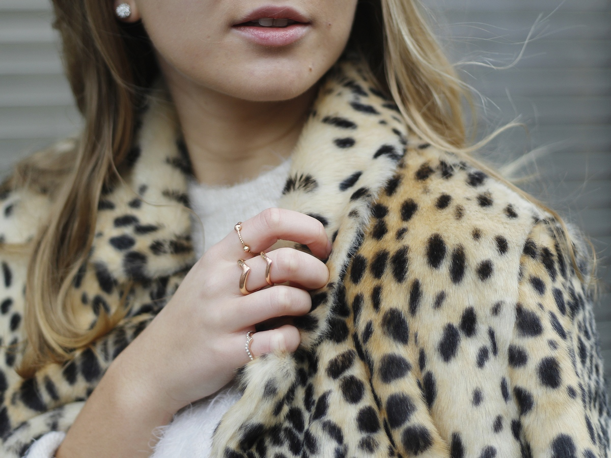 The Blondie World X Du style, Madame ! outfit - look - manteau léopard - leo coat