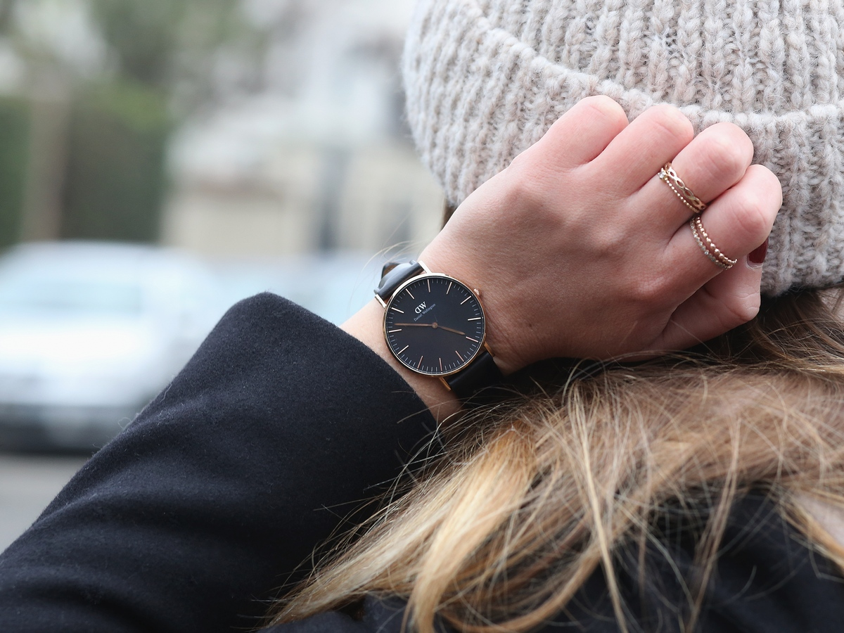 Classic Black | 36mm Sheffield - daniel wellington