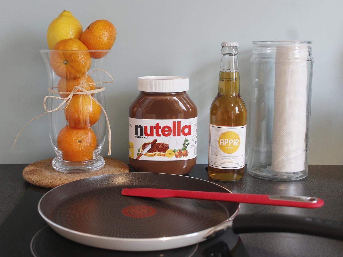 nutella - chandeleur - crepes - recette - tefal