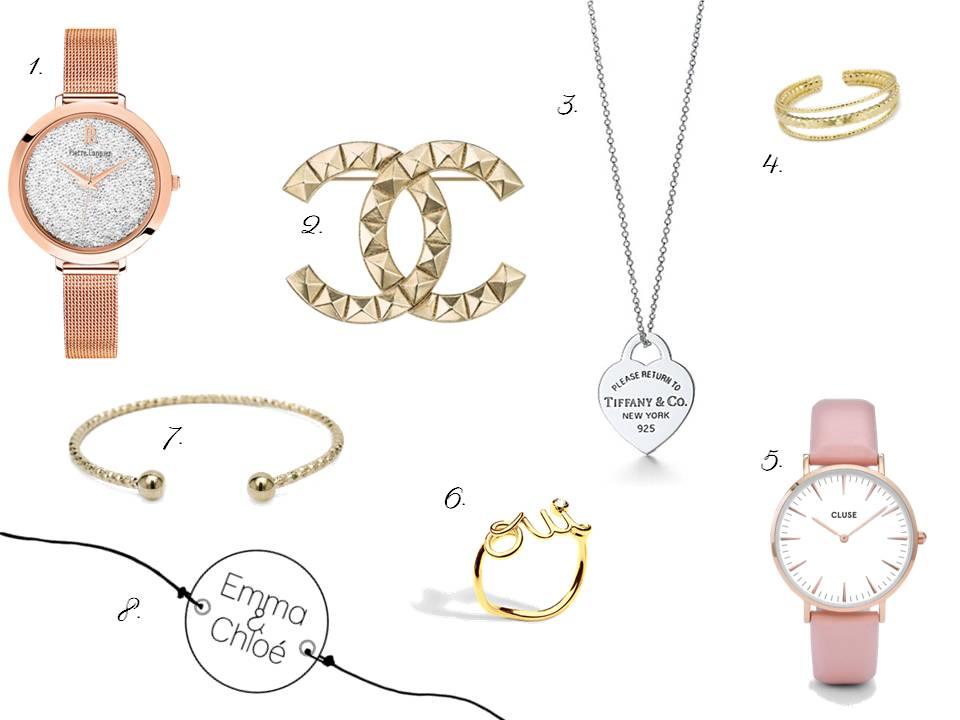 wishlist elle bijoux - saint valentin