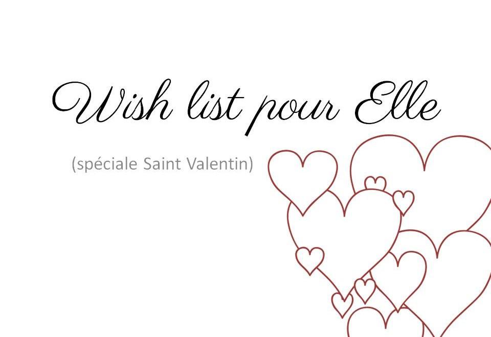 Wish list pour Elle couv