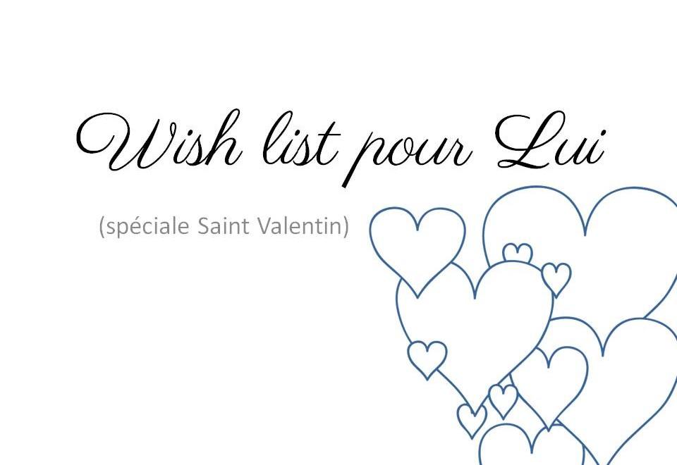 Wish list pour Lui couv