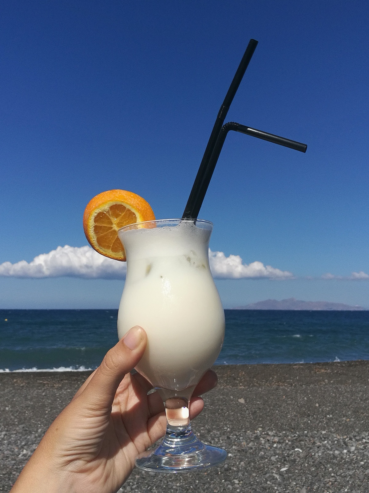 pinacolada - on the beach - kamari beach - holidays