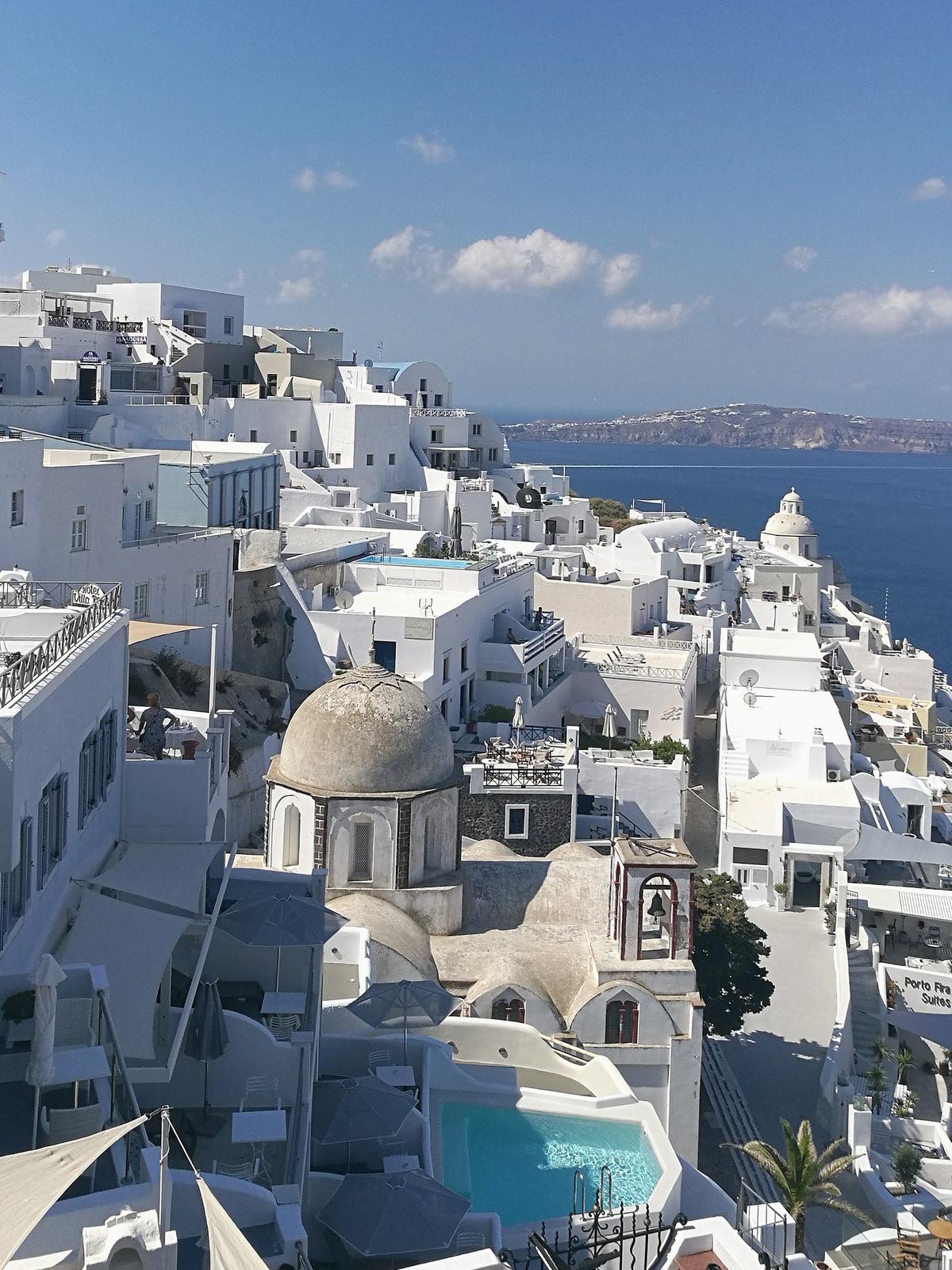 santorin - fira - thira - landscape - greece - grece - santorini - travelblog - travel - voyage
