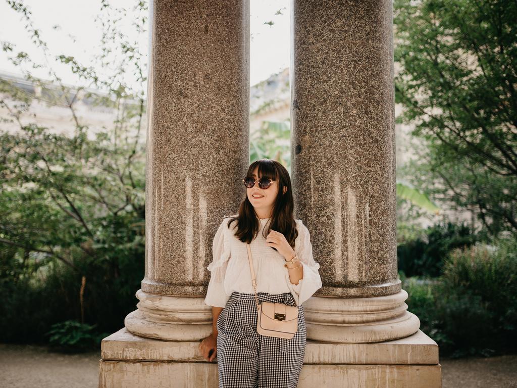 petit palais - vichy - plumetis - nude bag - naf naf - du style madame - jude foulard photographie