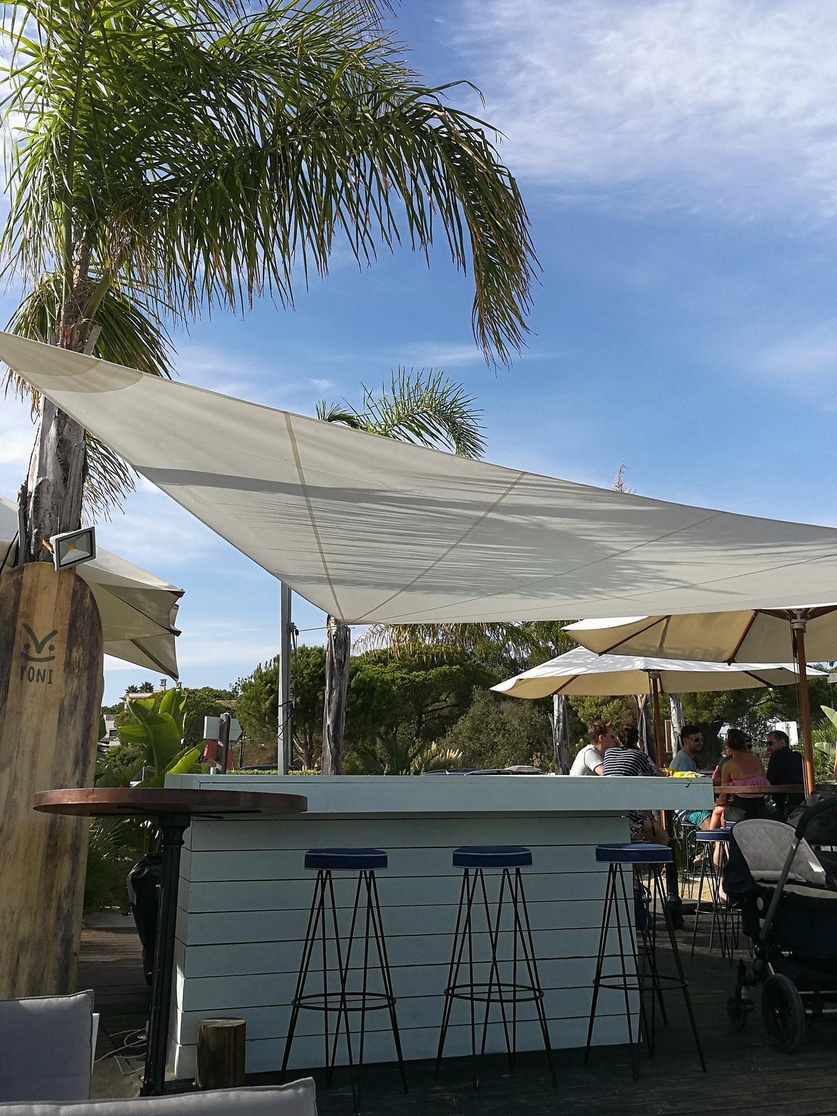 beach club shack - quinto da lago