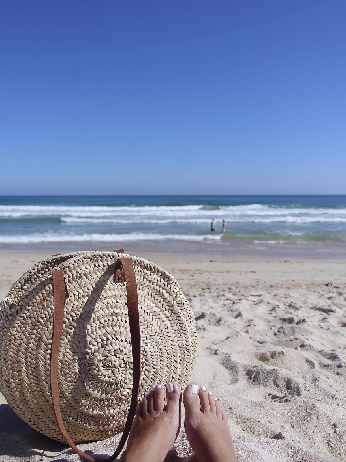 faro - portugal - praia - island - beach - panier rond