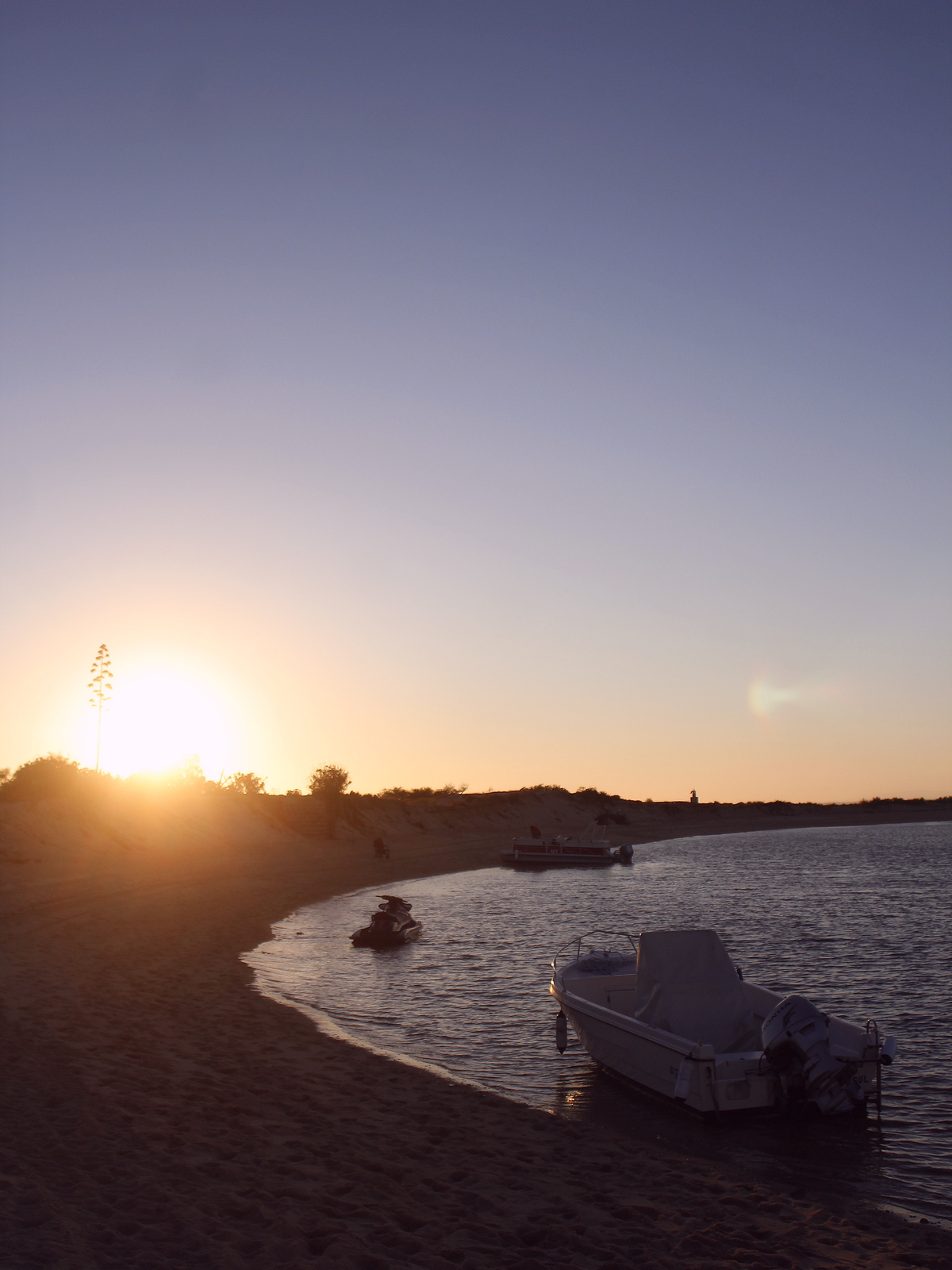 Praia deserta - plage portugal