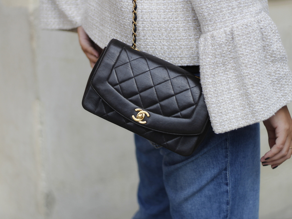chanel bag - vintage - lady di - sac chanel - timeless