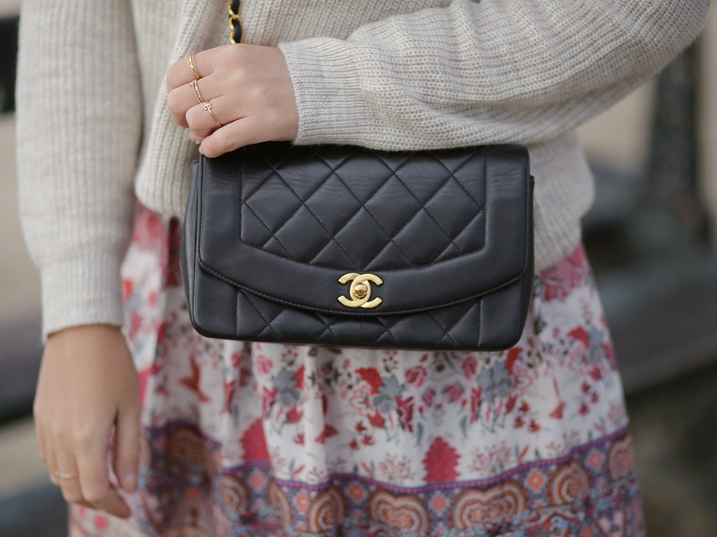 chanel bag - sac - diana - timeless - vintage