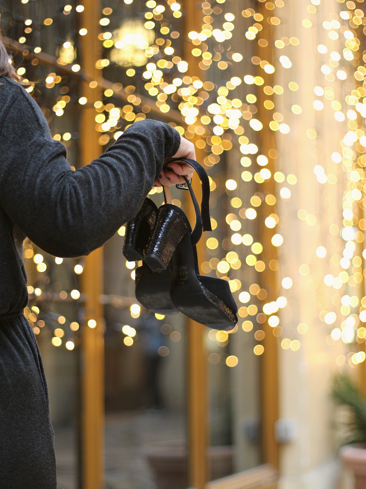 Christmas spirit - Galerie Vivienne - du style madame - noel - look - leï 1984 - andré chaussure