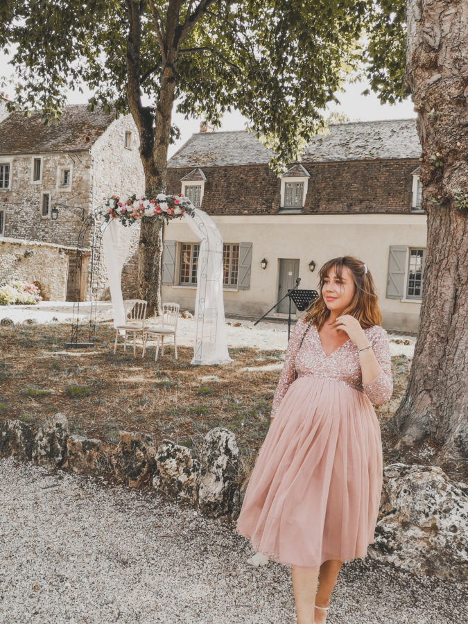 location robe grossesse maternité mariage